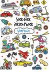 Soek-soek inkleurboek: Voertuie (Paperback)