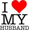 I Love My Husband Women's T-Shirt - White (X-Small)