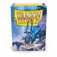 Dragon Shield - Standard Sleeves - Matte Petrol (100 Sleeves)