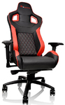 Tt eSports GT Fit Gaming Chair - Red and Black