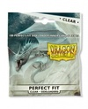 Dragon Shield - Perfect Fit Sideloader Sleeves - Clear/Clear (100 Sleeves)