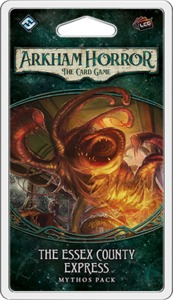 Arkham Horror: The Card Game - The Essex County Express Mythos Pack (Card Game) - Cover