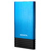 ADATA - X7000 Lithium Polymer (LiPo) 7000mAh Power Bank - Black/Blue