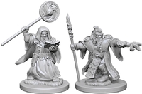 Dungeons & Dragons: Nolzur's Marvelous Unpainted Miniatures - Dwarf Male Wizards - Cover