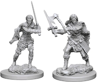 Dungeons & Dragons: Nolzur's Marvelous Unpainted Miniatures - Human Female Barbarians - Cover