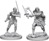 Dungeons & Dragons: Nolzur's Marvelous Unpainted Miniatures - Human Female Barbarians