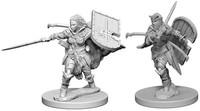 Pathfinder Battles: Deep Cuts Unpainted Miniatures - Human Female Paladins (Miniatures) - Cover