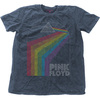 Pink Floyd - Prism Arch Mens Snow Wash Denim T-Shirt (Large)