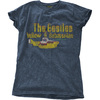 The Beatles - Yellow Submarine Nothing Is Real Ladies Snow Wash Denim T-Shirt (X-Large) Cover