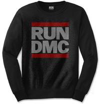 Run DMC - Logo Mens Black Long Sleeve Shirt (Medium) - Cover