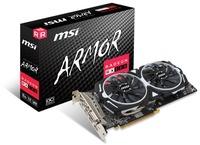 MSI AMD Radeon RX 580 Armor 8GB OC GDDR5 256bit Graphics Card - Cover