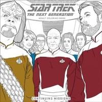 Star Trek The Next Generation Adult Coloring Book - Juann Cabal (Paperback) - Cover