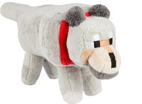 """Minecraft 15"""" Wolf Plush With Hang Tag - Cover"""