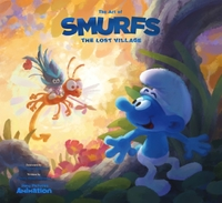 Art of Smurfs: the Lost Village - Tracey Miller-Zarneke (Hardcover) - Cover
