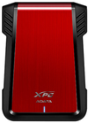 ADATA - EX500 2.5 inch SATA External HDD Enclosure - Black/Red