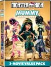 Monster High: the Mummy Adventures (DVD) Cover