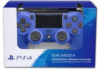 Sony - New DUALSHOCK 4 Wireless Controller V2 - Blue - Cover