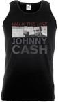 Johnny Cash Studio Shot Black Mens Vest (X-Large)