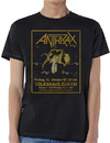 Anthrax Among the Living New Mens Black T-Shirt (Small)