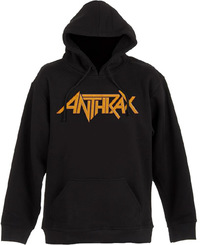 Anthrax Evil Twin Mens Black Pullover Hoodie (Small) - Cover