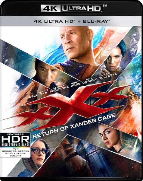 Xxx The Return Of Xander Cage 4k Ultra Hd Blu Ray Movies Tv Online Raru