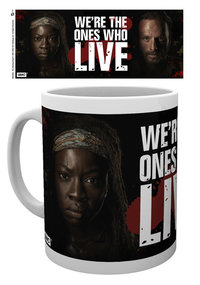 The Walking Dead - We're The Ones Who Live Mug - Cover