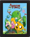 Adventure Time - House 3D Lenticular Poster