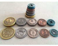 Scythe - Metal Coins Expansion (Board Game) - Cover