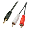 Lindy 10m 2 x RCA 3.5 mm Stereo Cable