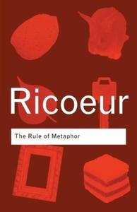 Rule of Metaphor - Paul Ricoeur (Paperback) - Cover