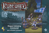 Runewars Miniatures Game - Daqan Infantry Command Unit Expansion (Miniatures)