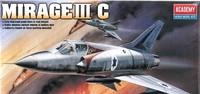 Academy - 1/48 - Dassault Mirage III C (Plastic Model Kit) - Cover