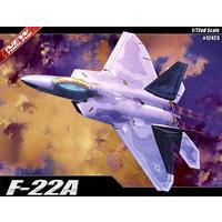 Academy - 1/72 - Lockheed Martin F-22A Raptor (Plastic Model Kit)