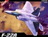 Academy - 1/72 - Lockheed Martin F-22A Raptor (Plastic Model Kit)