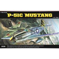 Academy - 1/72 - North American P-51C Mustang (Plastic Model Kit)