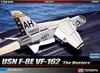 Academy - 1/72 - Vought F-8E Crusader VF-162 'The Hunters' (Plastic Model Kit)