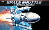 Academy - 1/288 - Shuttle & Booster (Plastic Model Kit) - Cover