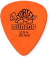 Dunlop 418R 0.60mm Tortex Standard Guitar Pick (Orange)
