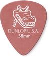 Dunlop 417P 0.58mm Gator Grip Guitar Pick (Red)