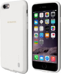 Romoss EnCase 6S 2000mAh Battery Case for iPhone 6 and 6S - White - Cover
