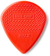 Dunlop 471P3N Maxi-Grip Jazz III Nylon Guitar Pick (Red)