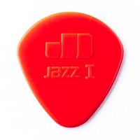 Dunlop 47R1N Nylon Jazz I Guitar Pick (Red) - Cover
