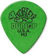 Dunlop 472RM3 Tortex Jazz III Guitar Pick (Green)