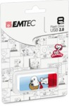 Emtec Peanuts M700 8GB USB 2.0 Flash Drive - Snoopy