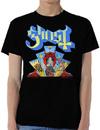 Ghost - Devil Window Mens Black T-Shirt (Large)