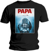 Ghost - Papa Jaws Mens Black T-Shirt (Small)