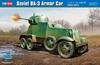 Hobbyboss - 1/35 - Soviet BA-3 Armoured Car (Plastic Model Kit)