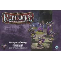 Runewars Miniatures Game - Waiqar Infantry Command Unit Expansion (Miniatures)