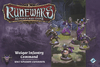 Runewars Miniatures Game - Waiqar Infantry Command Unit Expansion (Miniatures)