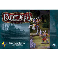 Runewars Miniatures Game - Lord Hawthorne Hero Expansion Pack (Miniatures)